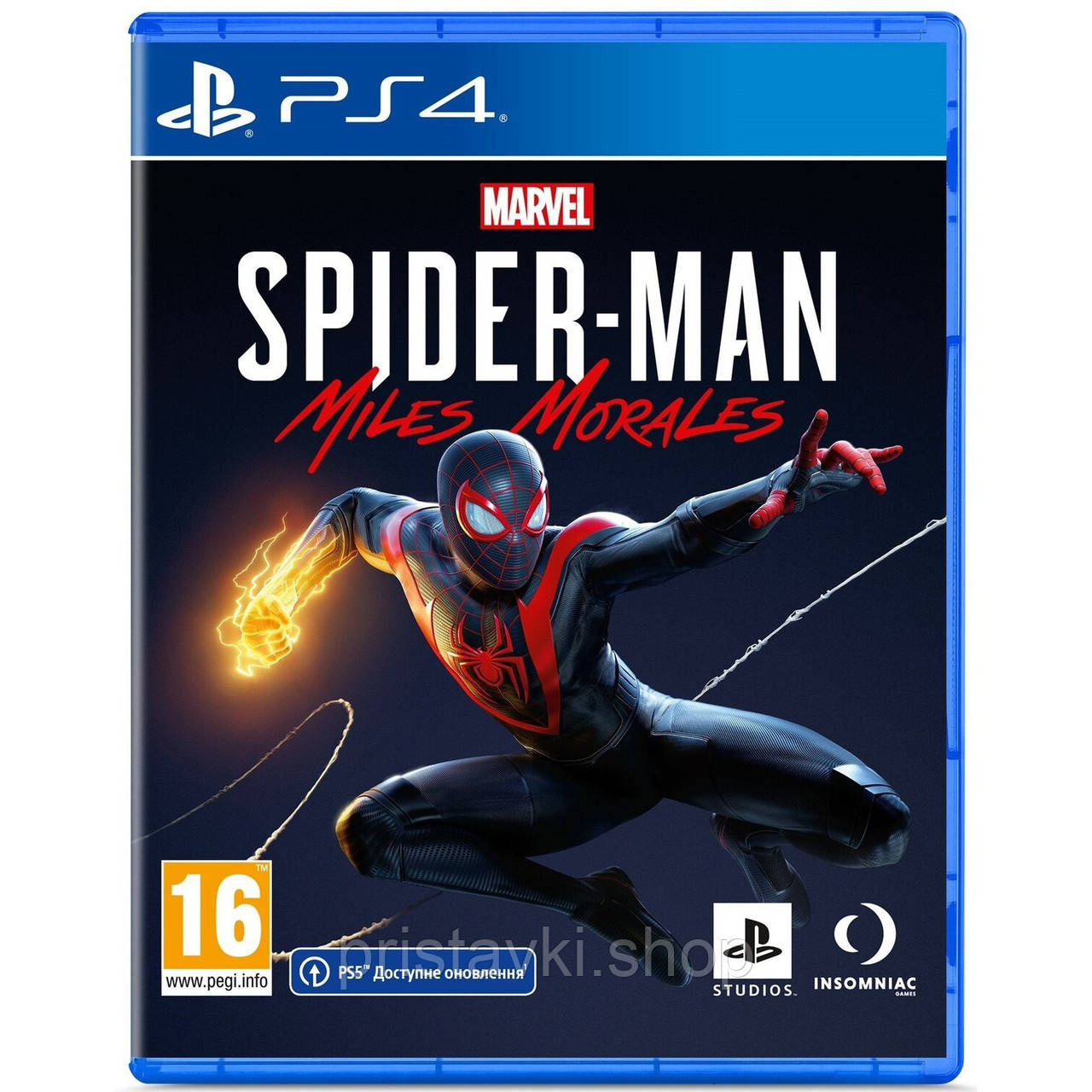 Spider-Man: Miles Morales PS4