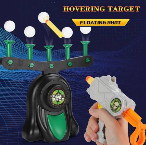Воздушный тир Hover Blast Стрельба по парящим шарикам | Пистолет с дротиками и летающие мишени