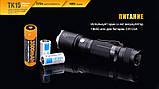 Ліхтар ручний Fenix TK15UE2016 чорний, фото 9