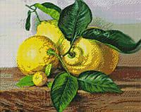 Алмазная мозайка ArtStory Лимоны  40*50см в коробке