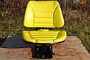 Сидение (сидіння) тракторне универсальне (МТЗ,ЮМЗ,Т-40,Т-25) Желтый цвет, фото 8