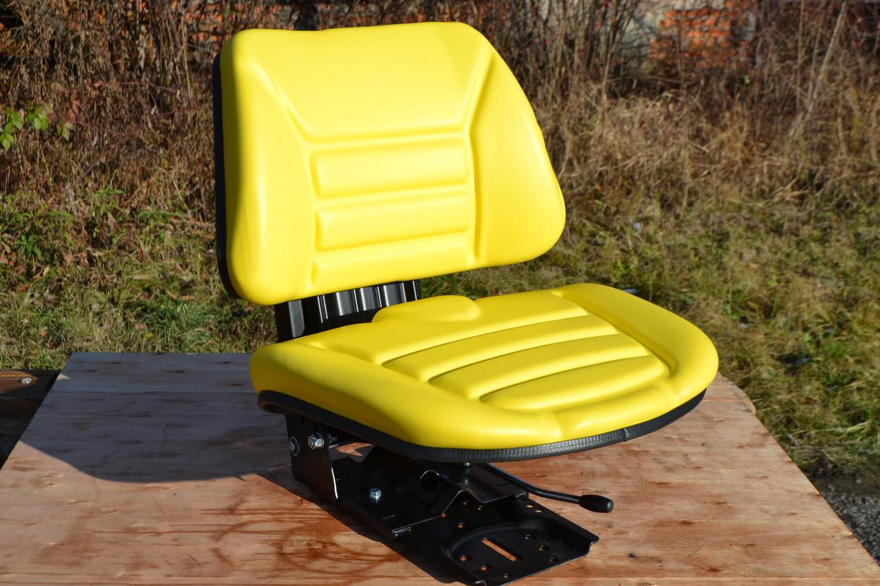 Сидение (сидіння) тракторне универсальне (МТЗ,ЮМЗ,Т-40,Т-25) Желтый цвет