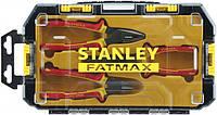 Набір шарнірно-губцевого інструменту 3шт FatMax VDE Stanley (FMHT0-81157)|плоскогубцы, пассатижи, пасатижі