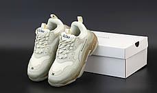 Кроссовки женские Balenciaga Triple S баленсиага белые. ТОП Реплика ААА класса., фото 3
