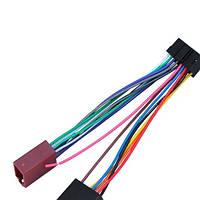 Переходник автомагнитолы ISO 456001 SONY -ISO с кабелем 20см