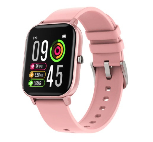 Смарт часы Colmi P8 Pro (P8T) Pink с функцией термометра, пульсометра