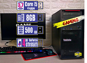 Игровой компьютер L1792-1 i5-4590/8Gb/HDD 500Gb/Gtx 1050Ti 4Gb WiFi в подарок!