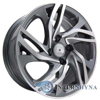 Литые диски Replica Peugeot (PT110) 7x16 4x108 ET25 DIA65.1 GMF