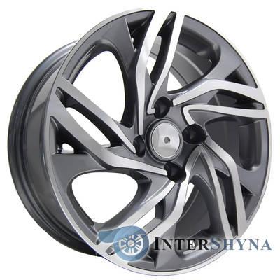 Литые диски Replica Peugeot (PT110) 7x16 4x108 ET25 DIA65.1 GMF, фото 2
