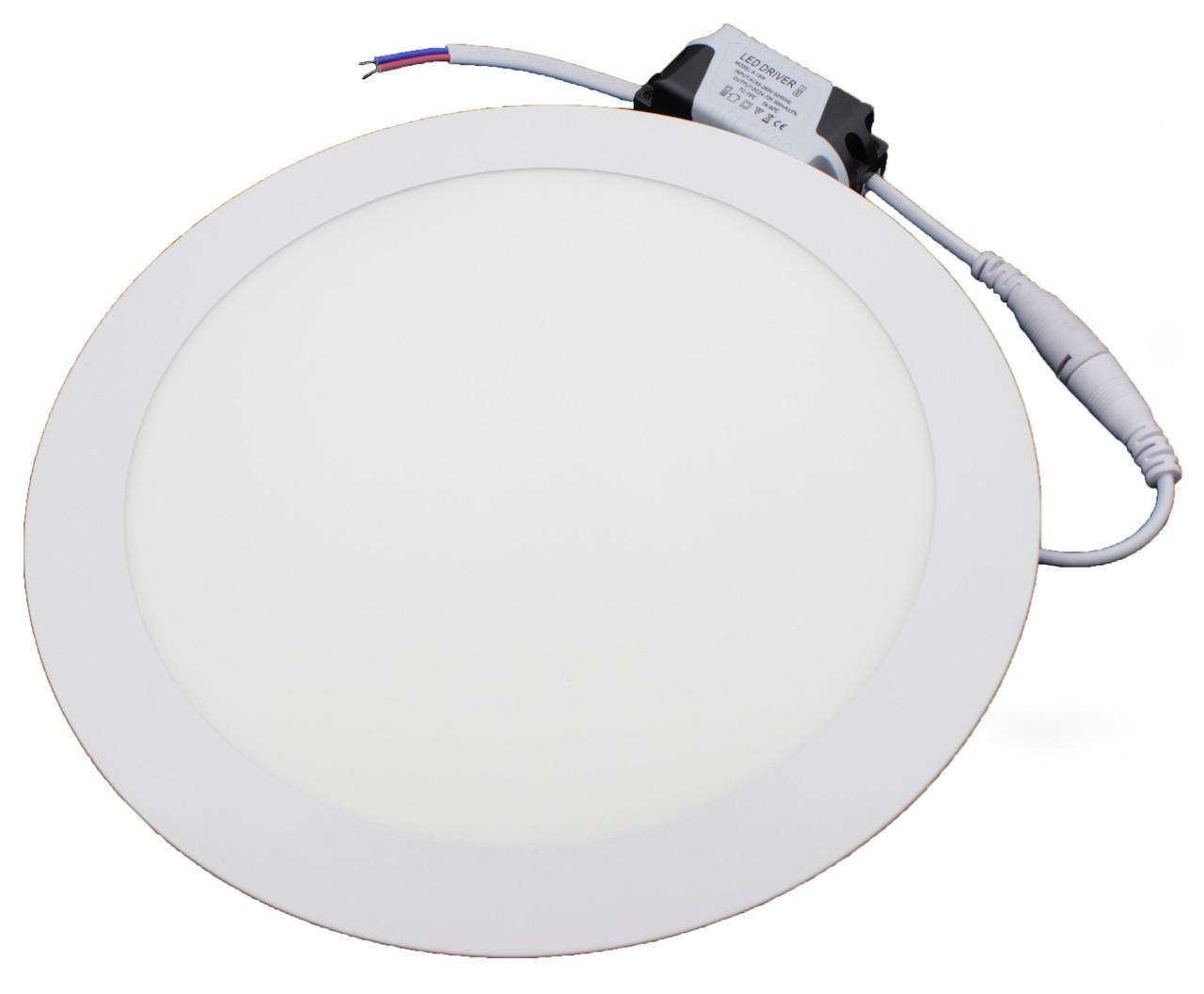 #439/1 18W SLIM PANEL (metal) Pure White Б-класс Светодиодный светильник