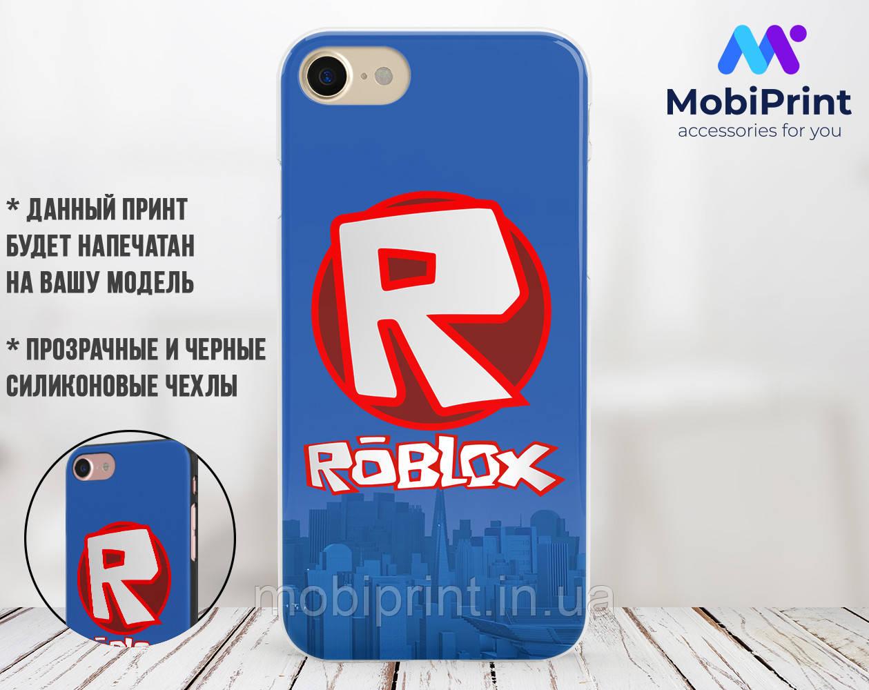 Силиконовый чехол Роблокс (Roblox) для Samsung J415 Galaxy J4 Plus