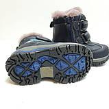 Зимние кожаные ботинки для мальчика Bi&Ki р. 25 (16 см), 27 (17,5 см), фото 6