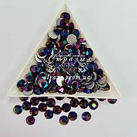 """Стразы ss16 Black ghost (4,0мм) 1400шт """"Crystal Premium"""""""