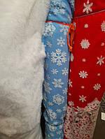 Трикотажное полотно  для пошива новогодних костюмов  ширина 150 см сублимация Дед Мороз, фото 1
