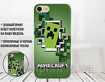 Силіконовий чохол Майнкрафт (Minecraft) для Samsung J710H Galaxy J7 (2016)
