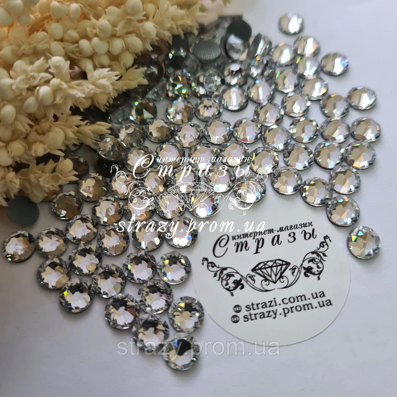 Термо стрази ss16 Crystal Xirius NEW 16 граней, 1440шт. (4.0 мм)