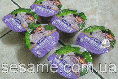 """Конфеты """"New Choice"""" фруктовое  желе ассорти  с соком и кусочками фруктов в пакете. 500г (Вьетнам)"""