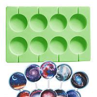 Форма силиконовая молд для леденцов Lolli Pop из 8 шт 5 см