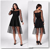Женское платье горох, фото 1