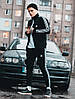 Мужская олимпийка бомбер Adidas, чоловіча олімпійка Адідас, ветровка кофта Адидас, фото 2