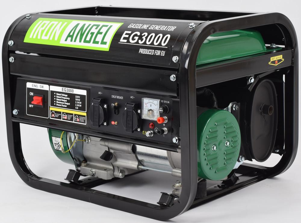 Генератор бензиновый Iron Angel EG3000 ( 2.8 кВт)