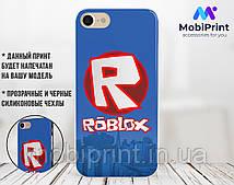 Силиконовый чехол Роблокс (Roblox) для Apple Iphone 5_5s_Se