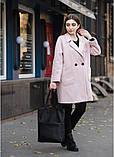 Стильная женская сумка шоппер черная с двумя ручками из матовой эко кожи (качественного кожзама), фото 5