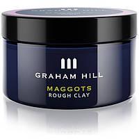 Матовая паста для волос сильной фиксации Graham Hill Maggots Rough Clay 75 мл