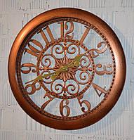 "Настінний годинник ""Classic 2747"" copper (51 см.), фото 1"