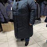 Зимнее женское пальто Grey Cardinal супербаталл, фото 4