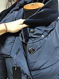 Зимнее женское пальто Grey Cardinal супербаталл, фото 6