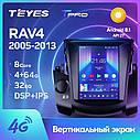 Штатна магнітола TEYES TPRO Toyota RAV4 3 XA30 Tesla screen Tesla style Android, фото 2