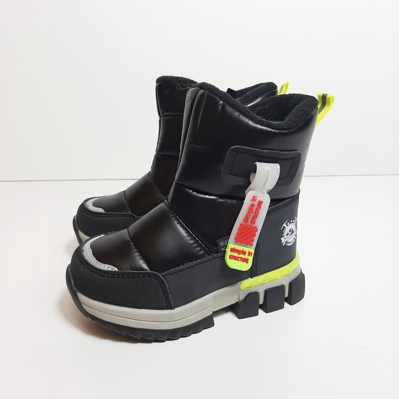Зимние сапоги для мальчика Tom.m Чёрный р. 25 (16,3 см), 27 (17,5 см)