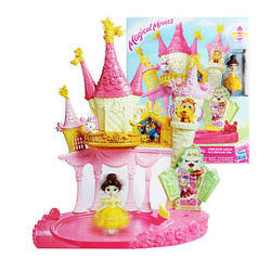 Маленькая кукла Принцесса, крутящаяся и дворец Белль, E1632