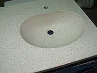 Столешница в ванную с раковиной, фото 1