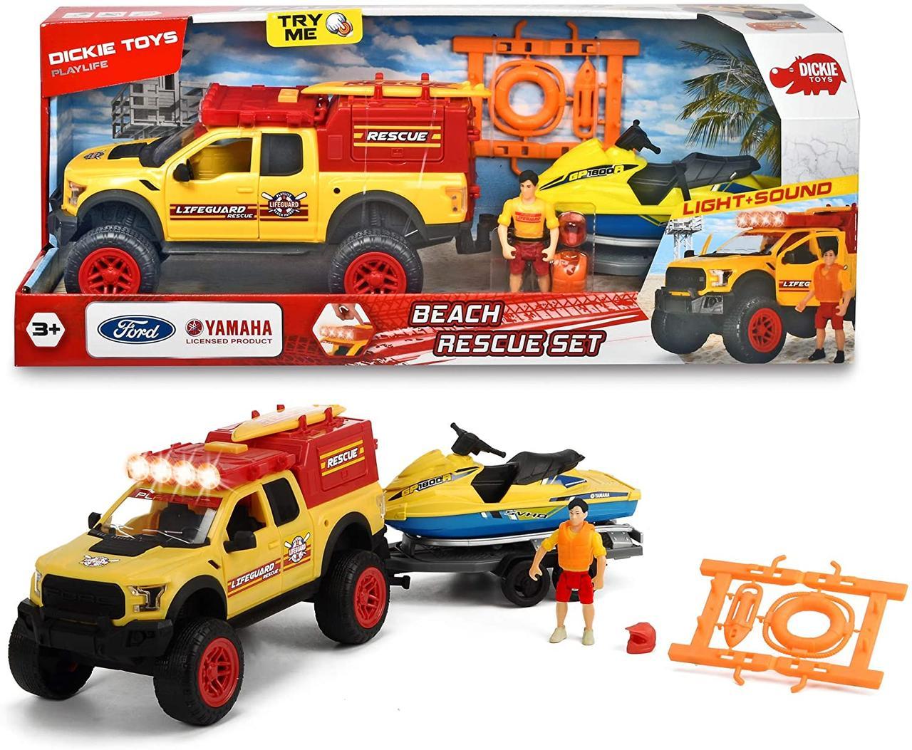 Игровой набор Playlife. Пляжный Патруль Dickie toys 3837008