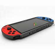 """Портативная игровая консоль X12 Plus 7""""   10000 встроенных игр   поддержка карт памяти, фото 4"""