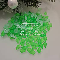 Стрази фігурні 5*8 Neon green 20шт №93