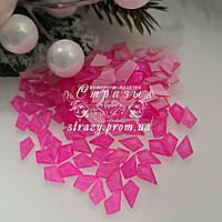 Стрази фігурні 5*8 Neon pink 20шт №93