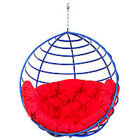 Кресло-кокон  Aurora-S150 кг Красное