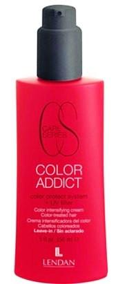Крем повышающий стойкость краски с системой защиты цвета Lendan Color Addict 150 мл