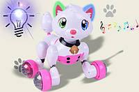 Интерактивная игрушка Кошка MG012 Голосовое управление. Звуковые и световые эффекты