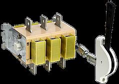 Вимикач-роз'єднувач ВР32И-31A71240 100А на 2 напрямки рукоятка спереду IEK