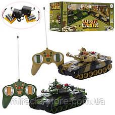 Танковый бой 9993 два танка на радиоуправлении, фото 3