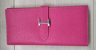 Женский стильный кошелёк малиновый 089-5