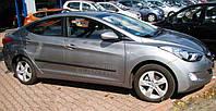 Молдинги дверей Hyundai Elantra