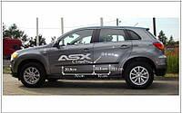 Молдинги дверей Mitsubishi ASX