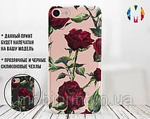 Силиконовый чехол Розы (Roses) для Samsung J710H Galaxy J7 (2016)