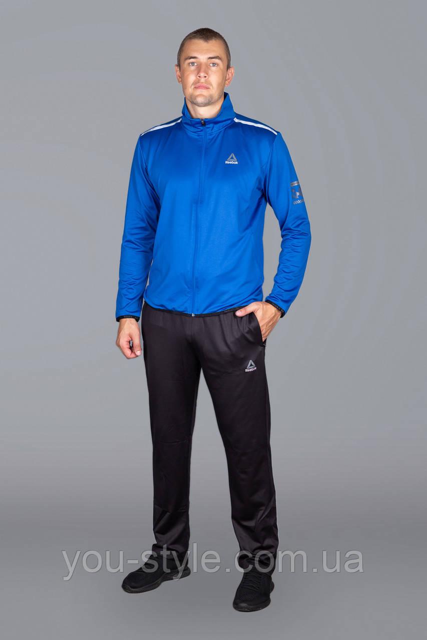 Чоловічий спортивний костюм Reebok 5732 Блакитний