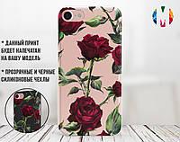 Силіконовий чохол Троянди (Roses) для Xiaomi Redmi Note 8 Pro, фото 1